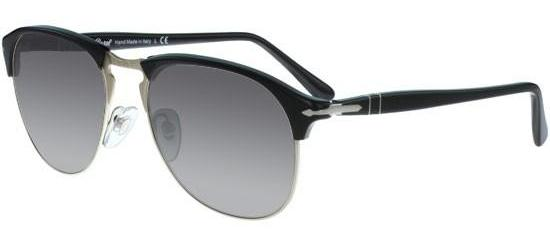 Persol CELLOR SERIES PO 8649S BLACK/CRYSTAL GREY SHADED
