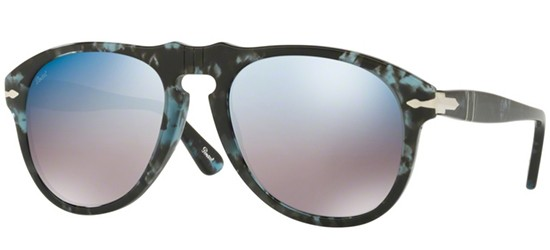 Persol PO 0649 BLUE HAVANA/BLUE GREY