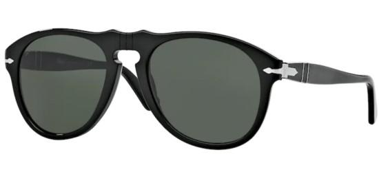 Persol PO 0649 BLACK/GREY GREEN