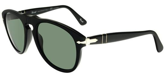 Persol PO 0649 BLACK/GREEN POLARIZED