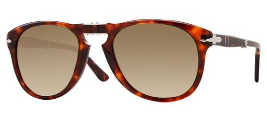 Persol PO 0714 FOLDING HAVANA/CRYSTAL BROWN SHADED