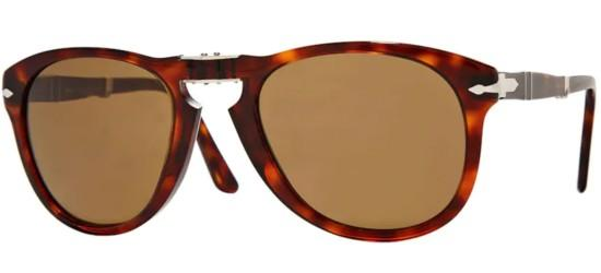 Persol Persol PO 0714 FOLDING HAVANA/CRYSTAL BROWN POLARIZED