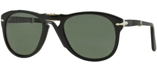 Persol Persol PO 0714 FOLDING BLACK/CRYSTAL GREEN POLARIZED