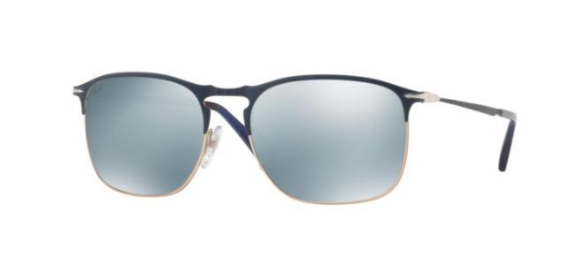 9e5c05ca3f8 Persol PO 7359S. blue bronze crystal green silver mirror (1073 30)   194.00  FAST SHIPPING