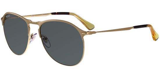 Persol PO 7649S MATTE GOLD/CRYSTAL GREEN POLARIZED