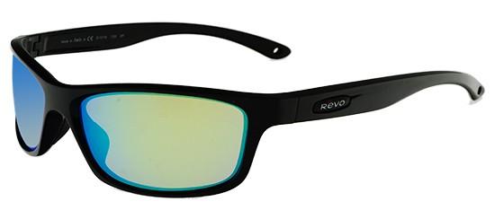 Revo HARNESS RE 4071 BLACK/GREEN WATER POLARIZED MIRROR