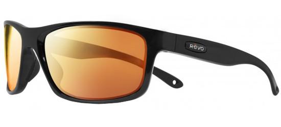 Revo HARNESS RE 4071 MATTE BLACK/SOLAR ORANGE POLARIZED MIRROR