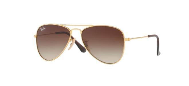 Ray-Ban Junior zonnebrillen AVIATOR JUNIOR RJ 9506S