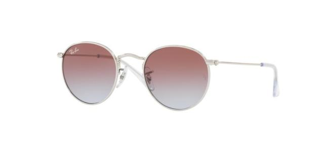 Ray-Ban Junior solbriller ROUND METAL JUNIOR RJ 9547S