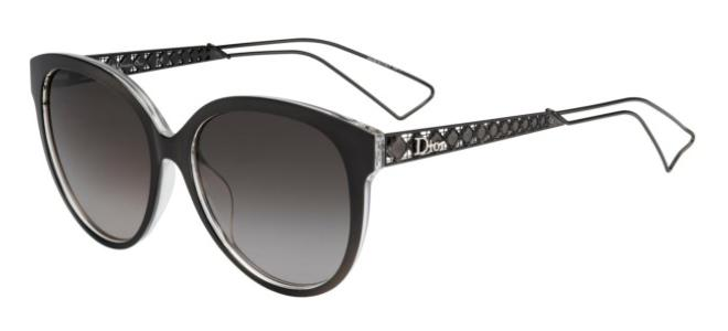 18203fbeafec7 Dior DIORAMA 2 Dark Grey Crystal grey Brown Shaded (TGT HA)