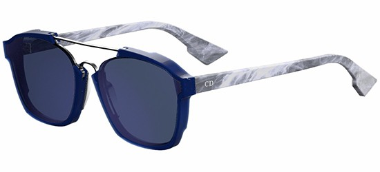 Christian Dior DIOR ABSTRACT BLUE GREY MARBLE/BLUE