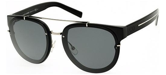 Christian Dior DIOR BLACK TIE 143S SHINY BLACK CRYSTAL BLACK/DARK GREY