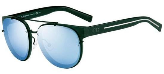 Christian Dior DIOR BLACK TIE 143S DARK GREEN/LIGHT BLUE MIRROR