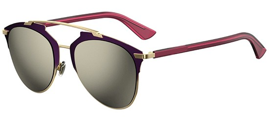 Dior DIOR REFLECTED PURPLE SHADED GOLD FUCHSIA/GREY GOLD