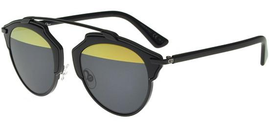 Dior DIOR SO REAL BLACK/DARK GREY YELLOW