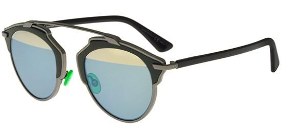 Dior DIOR SO REAL RUTHENIUM DARK GREEN/LIGHT BLUE GOLD