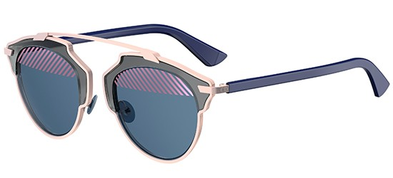 Dior DIOR SO REAL GREY PINK BLUE/VIOLET BLUE