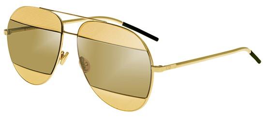 Dior DIOR SPLIT 1 GOLD/GOLD PIXEL BROWN