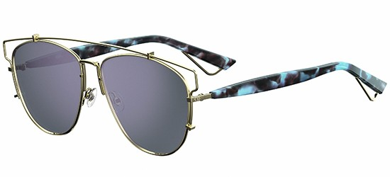 Christian Dior DIOR TECHNOLOGIC GOLD LIGHT BLUE HAVANA/GREY BLUE