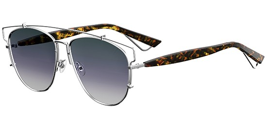 Christian Dior DIOR TECHNOLOGIC SILVER HAVANA/GREY SHADED