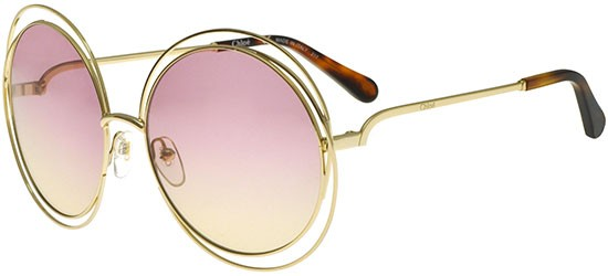 Chloé CARLINA CE114S GOLD HAVANA/PINK SHADED BEIGE