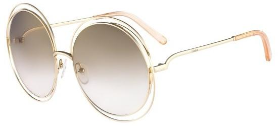 Chloé CARLINA CE114S GOLD/LIGHT BROWN SHADED