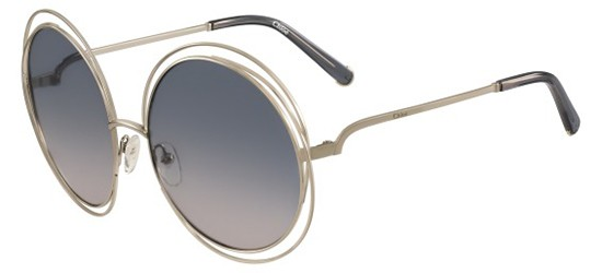 Chloé CARLINA CE114S GOLD/BLUE SHADED