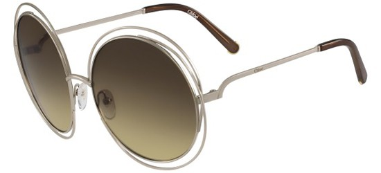 Chloé CARLINA CE114S GOLD/BROWN SHADED