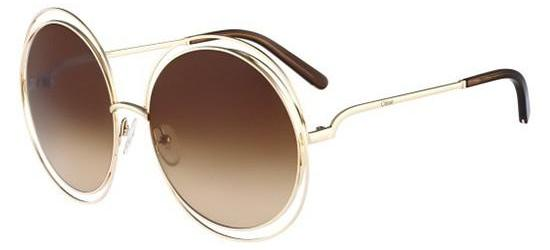 Chloé CARLINA CE114S ROSE GOLD/BROWN SHADED
