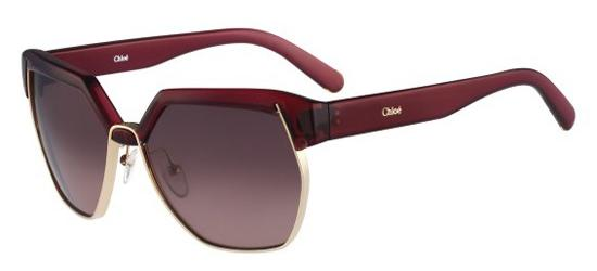 Chloé Chloé DAFNE CE665S BURGUNDY/BROWN SHADED
