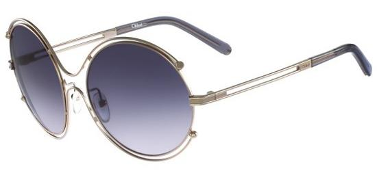 Chloé ISIDORA CE122S LIGHT GOLD/GREY BLUE SHADED