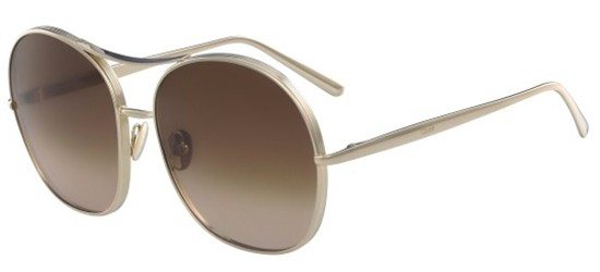 Chloé NOLA CE128S GOLD/BROWN SHADED