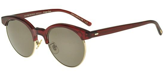 Oliver Peoples EZELLE OV 5346S BURGUNDY BRUSHED GOLD/CARBON GREY
