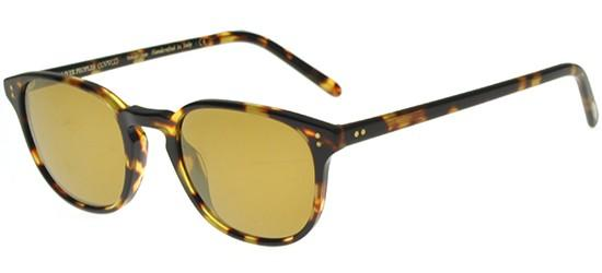 Oliver Peoples FAIRMONT OV 5219S VINTAGE DARK TORTOISE BLACK/GOLD MIRROR
