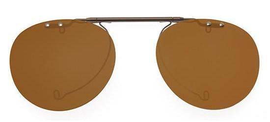 Oliver Peoples GREGORY PECK OV 5186 METAL DARK BROWN/BROWN