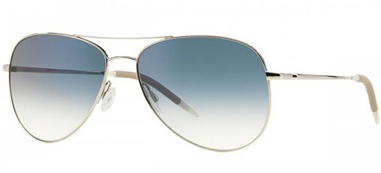 Oliver Peoples KANNON OV 1191S SILVER/CRYSTAL CHROME SAPPHIRE VFX PHOTOCHROMIC