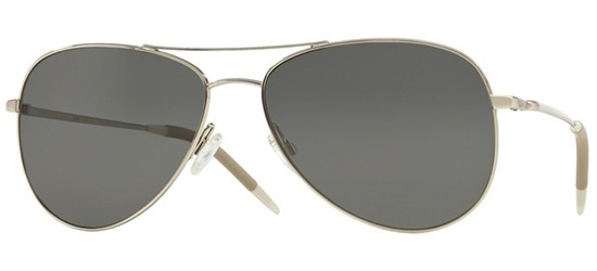 Oliver Peoples KANNON OV 1191S SILVER/CRYSTAL GRAPHITE VFX+ POLARIZED