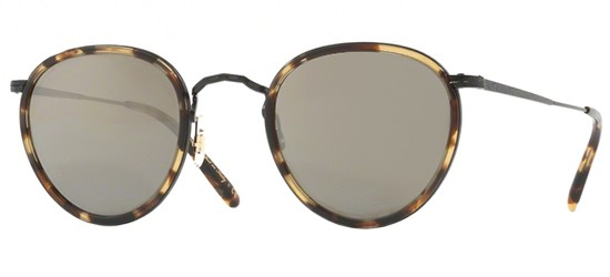 Oliver Peoples MP-2 SUN OV 1104S MATTE BLACK DUNE/GREY GOLDTONE