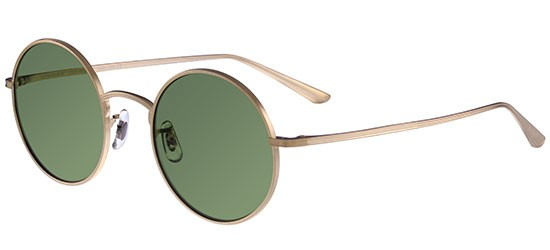 Oliver Peoples THE ROW AFTER MIDNIGHT OV 1197ST BRUSHED GOLD/GREEN