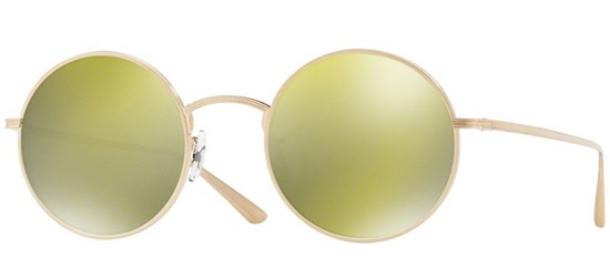 Oliver Peoples THE ROW AFTER MIDNIGHT OV 1197ST BRUSHED GOLD/GOLD