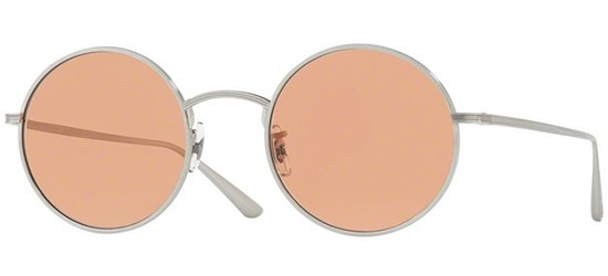 Oliver Peoples THE ROW AFTER MIDNIGHT OV 1197ST BRUSHED SILVER/PINK