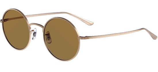 Oliver Peoples THE ROW AFTER MIDNIGHT OV 1197ST BRUSHED GOLD/BROWN