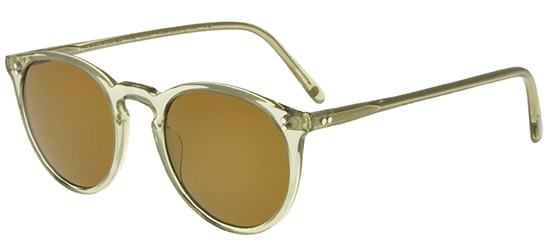 Oliver Peoples THE ROW O'MALLEY NYC OV 5183SM TRASLUCENT OLIVE/BROWN