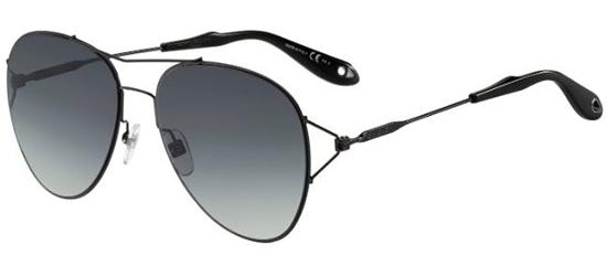 Givenchy GV 7005/S SHINY BLACK/GREY SHADED