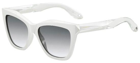 Givenchy GV 7008/S WHITE CRYSTAL/GREY SHADED GOLD MIRROR
