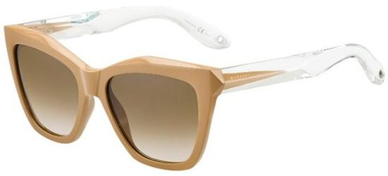 Givenchy GV 7008/S BEIGE CRYSTAL/BROWN SHADED