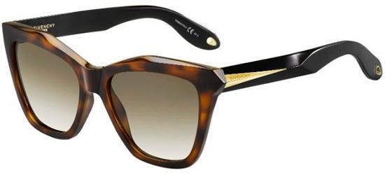 Givenchy GV 7008/S HAVANA BLACK/BROWN SHADED