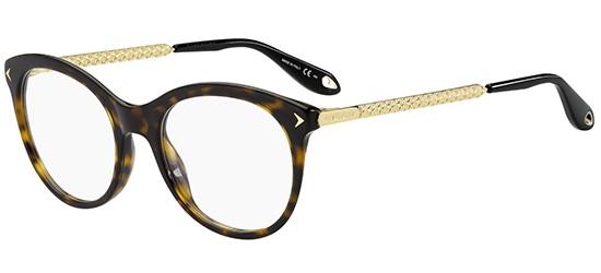 GIVENCHY Givenchy Damen Brille » GV 0080«, schwarz, 807 - schwarz