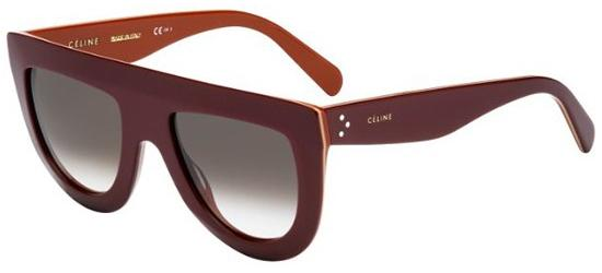 Céline ANDREA CL 41398/S BURGUNDY BRICK/BROWN SHADED