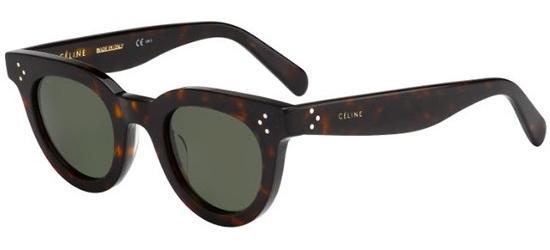 Céline ANNA CL 41375/S DARK HAVANA/GREY GREEN